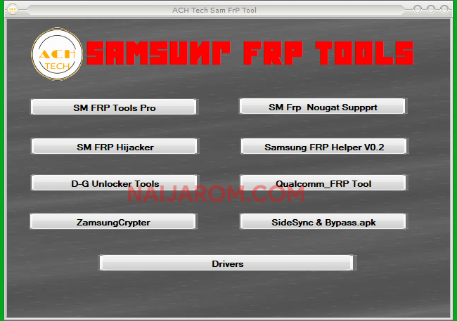 ACH Tech SAM FRP Tool