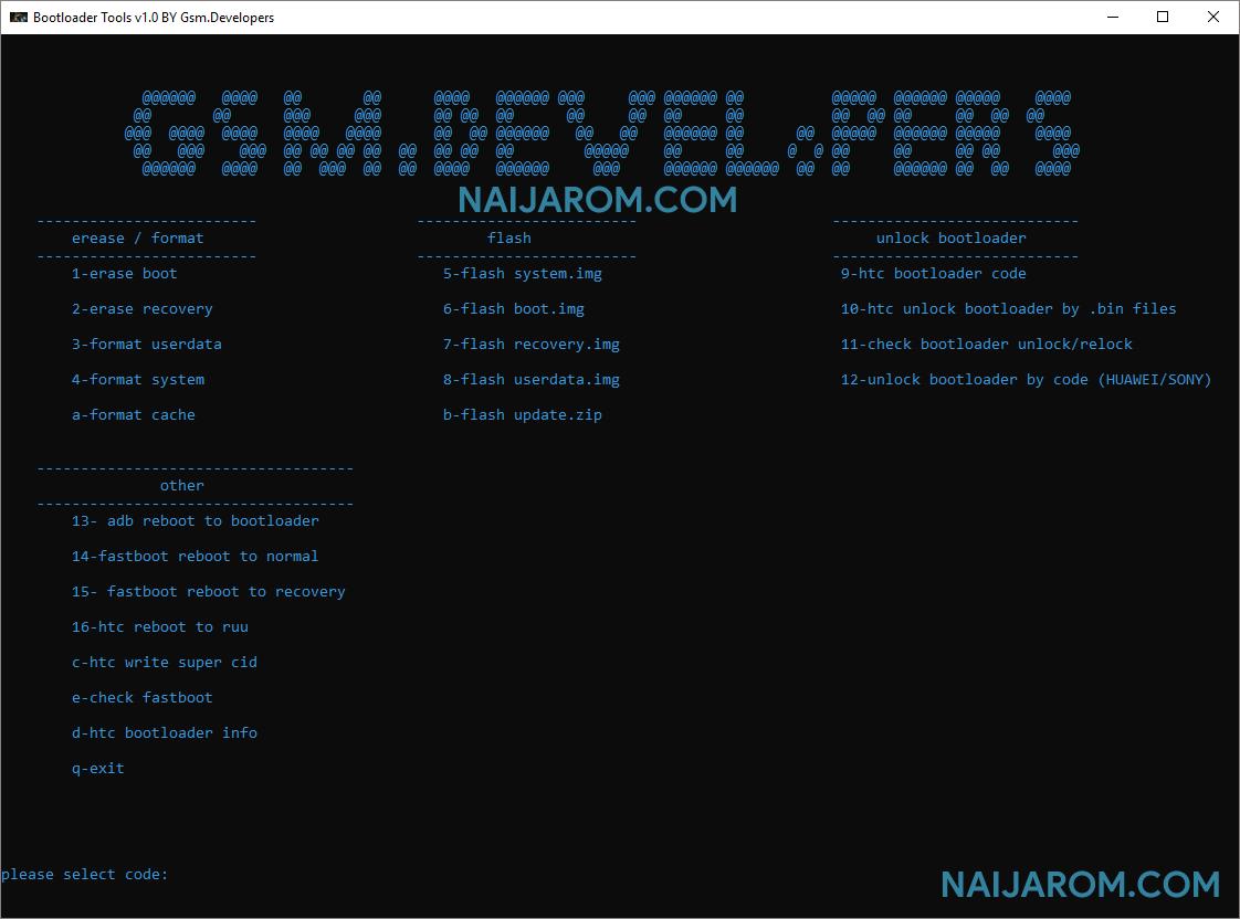 Bootloader Tool v1.0