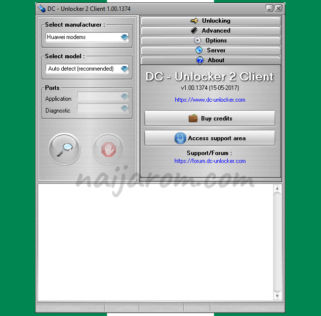 DC Unlocker 2 Client 1 00 1374 Tool (free download)