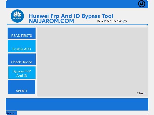 Huawei FRP and ID Bypass Tool