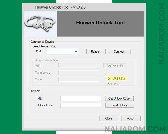 Huawei Unlock Tool