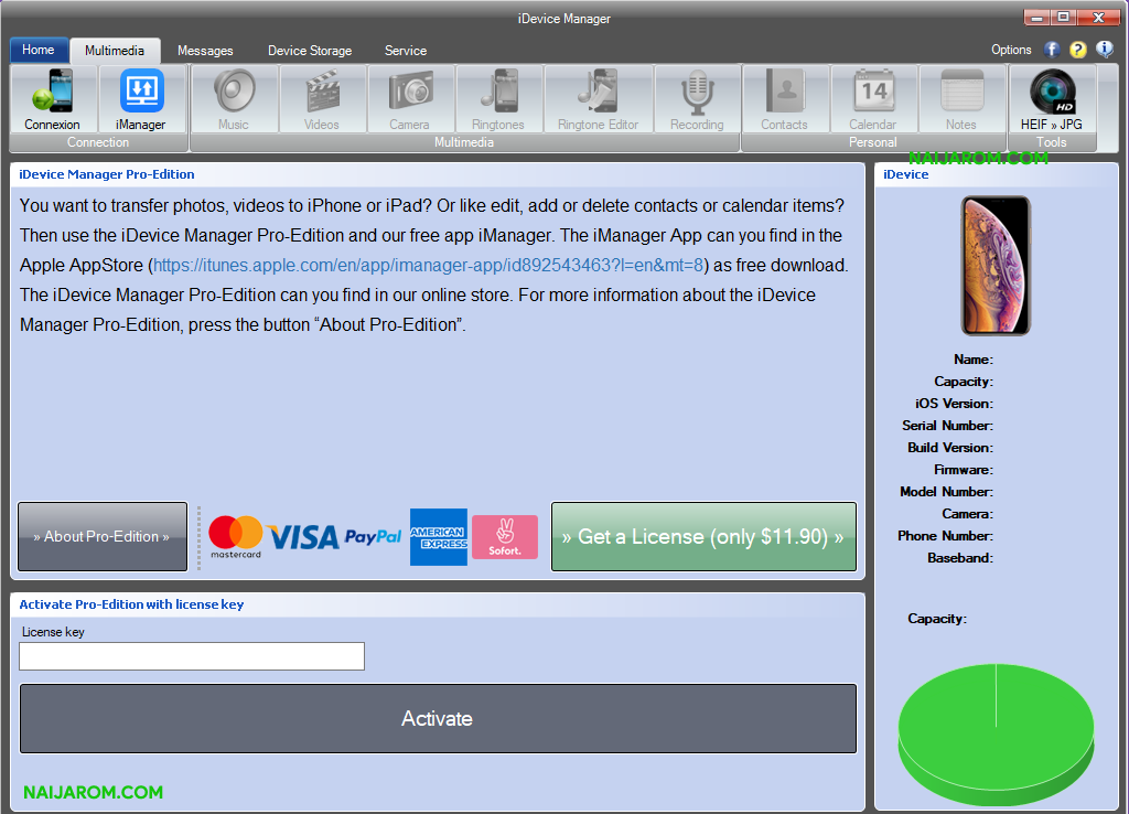 iDevice Manager Pro Edition v8.5.2.0