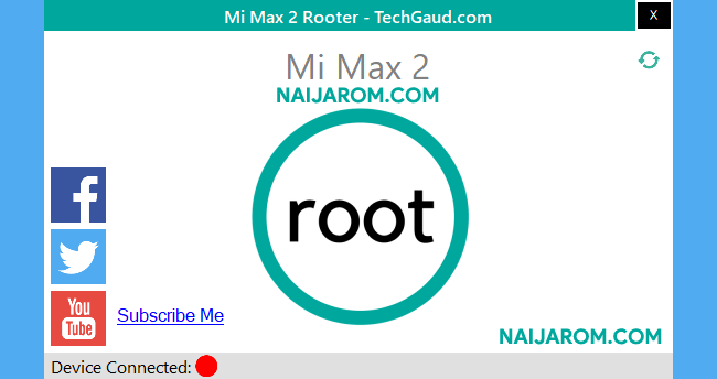 Mi Max 2 Rooter