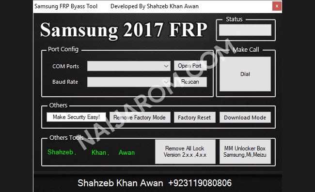Samsung 2017 FRP Remover