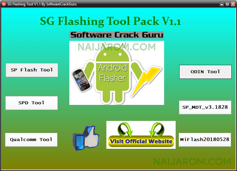 SG Flashing Tool Pack v1.1