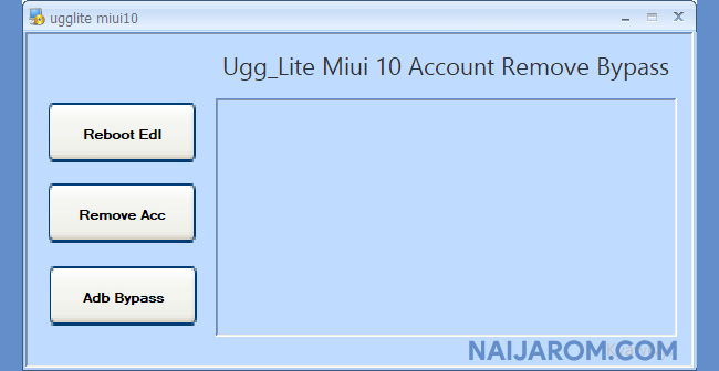 UGG Lite MiUi 10 Account Remove Bypass